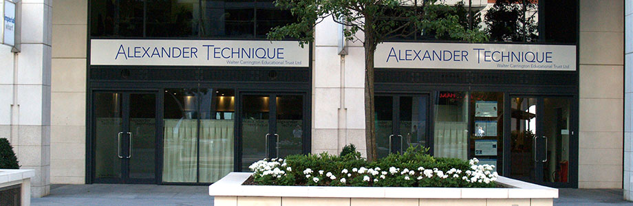 Alexander Technique Imperial Wharf Frontage